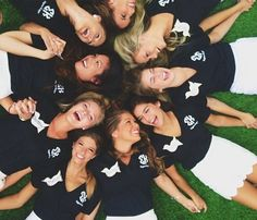 sorority sugar - love the navy and white
