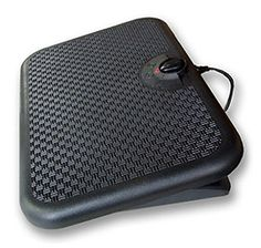 Electric Foot Warmer Mats help keep feet warm and toasty in extreme weathers. Usually mats like the Indus-Tool TT Toasty Toes Ergonomic Heated. Keep Warm, Stay Warm, Warm And Cozy, Heated Floor Mat, Desk Legs, Foot Warmers, Safety Switch, Cold Feet, Radiant Heat