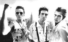 #TheClash  minus Topper Headon in this photo – Addicted To London