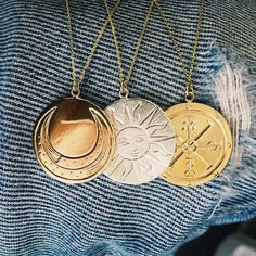 Coin Necklaces from the Oracle Collection
