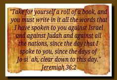 Jeremiah 36:2