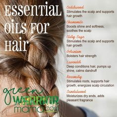Essential Oils for Hair: Whether you're concerned about hair loss, thinning hair, or hair that grows slow, try adding doTERRA essential oils to your hair care products for health-boosting benefits, be (Thin Hair Remedies) Essential Oils For Babies, Doterra Essential Oils, Young Living Essential Oils, Essential Oil Blends, Perfume Fahrenheit, Young Living Oils, Young Living Hair, Hair Loss Remedies, Hair Growth Oil
