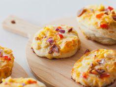 Mini Chicken Pizzas Recipe : Trisha Yearwood : Food Network - FoodNetwork.com