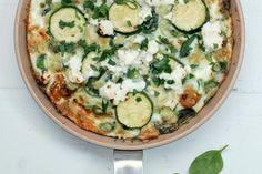 Lunes sin carne: Frittata de hojas verdes y clara de huevo