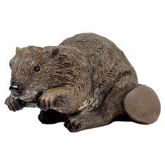 Bart the Large Realistic Beaver Animal Garden Ornament Beaver Animal, Animal Garden Ornaments, Animal Design, Traditional Design, Garden Inspiration, Garden Design, Lion Sculpture, Animals, Animales
