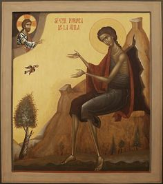 Understanding freedom of expression within Tradition in the creative act of iconography. The Orthodox non-liturgical artist's dilemma as he faces Tradition. Byzantine Icons, Byzantine Art, St Mary Of Egypt, Orthodox Catholic, Lives Of The Saints, Roman Church, Religious Paintings, Best Icons, Religious Icons