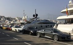 Just another day at Puerto Banús ;)