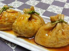 【ヒミツは袋の中】味が染み込んだ「豆腐巾着」がふわふわ美味!