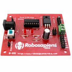 This module is a medium power #motordriver perfect for driving #DCMotors and  #StepperMotors. It uses the popular #L293D #motordriverIC. It can drive 4 DC motors in one direction, or drive 2 DC motors in both the directions with speed control. The driver greatly simplifies and increases the ease with which you may control motors, relays, etc from #microcontrollers.