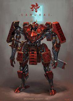 Resultado de imagen para samurais robot