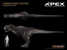 Carnotaurus sastrei by Herschel-Hoffmeyer on DeviantArt