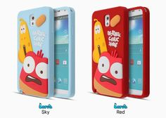 LARVA CARTOON 3D FUNNY SILICONE PHONE CASE FOR GALAXY S3