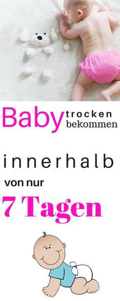 Töpfchentraining für Babys und Kinder. So wird dein kind innerhalb von 7 Tagen trocken und braucht keine Windel mehr. Töpfchen Training Belohnung, Trocken werden, Windelfrei Kinder, Windelfrei Baby
