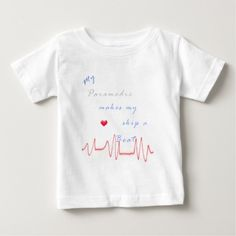 Paramedic heart beat infant T Shirt, Hoodie Sweatshirt