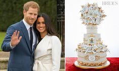 Baker creates cake fit for Meghan and Harry's wedding | Daily Mail Online