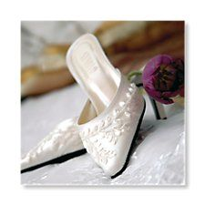 Bridal Shoes Invitation by Bride & Groom Direct - Available through the Wedding Heart website: http://www.weddingheart.co.uk/bride-and-groom-direct---wedding-invitations.html
