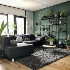 erste eigene Wohnung A Healthy Diet to Beat Anxiety Everyone experiences anxiety. Living Room Decor Cozy, Living Room Green, Green Rooms, New Living Room, Interior Design Living Room, Home And Living, Living Room Designs, Decor Room, Home Decor