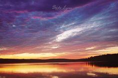 wisconsin, sunset, lake, travel