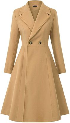 Winter Overcoat, Long Overcoat, Long Winter Coats, Winter Coats Women, Pea Coats Women, Trench Coats For Women, Dress Coats For Women, Long Winter Jacket, Wool Trench Coat