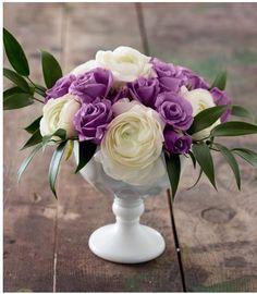 Best wedding decorations on a budget purple flower arrangements Ideas Indian Wedding Flowers, Purple Wedding, Floral Wedding, Trendy Wedding, Elegant Wedding, Diy Wedding Flower Centerpieces, Wedding Decorations On A Budget, Wedding Ideas, Wedding Stuff