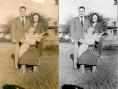 Restoration And Repair, Photos, Photographs, Digital Photos, Photo Repairs At Affordable Prices! http://www.fixingphotos.com #photorestoration