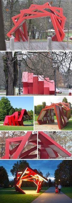Rok-Grdisa_Trimo-Urban-Crash_Tivoli-Park_Ljubljana_Slovenia_Sculpture_collabcubed