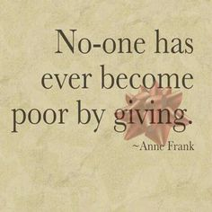 Literary Quote from Anne Frank´s diary