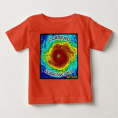 I Survived Hurricane Irma Kid's T Shirt - kids kid child gift idea diy personalize design