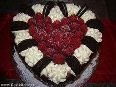 Flori's Kitchen – Pagina 3 – In Bucataria mea – Vasilescu Florentina Oreo, Raspberry, Cooking, Cake, Sweet, Desserts, Facebook, Cuisine, Pie Cake