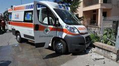 Doppio incidente,coinvolta Ambulanza all'uscita di Montoro.