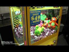 Toy Taxi Jr - Compact Crane Redemption Machine - BMIGaming.com - Coast To Coast
