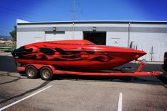 Awesome boat wrap done right!