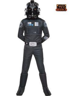 Star Wars Rebels Deluxe Tie Fighter Child Costume