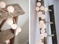 Vinkkipostaus: Happy Lights Snowball-pallovalot - Oma Koti Valkoinen - CASA Blogit