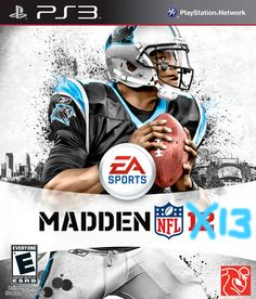Cam on the cover of Madden 13? yes.
