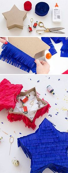 crack open fourth of july fun with diy star pinatas