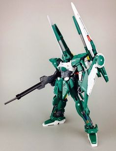 GUNDAM GUY: Delta Gundam Verde - Custom Build
