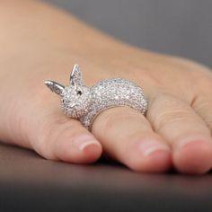 crystal bunny ears