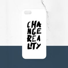 Greek Philosophy Change Reality Hand Lettering by MessProject case 5s Cases, Iphone Cases, Handwriting, Hand Lettering, Philosophy, Greek, Typography, Change, Black And White