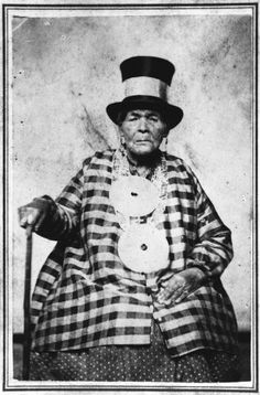 "Molly Molasses - Penobscot Indian ""Witch"" known for her m'teoulin (magic or spirit power) Born 1775 in a canoe on Green Lake, died 1867"