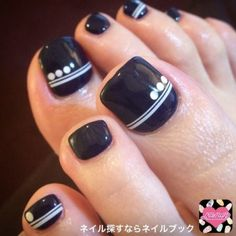 We all want beautiful but trendy nails, right? Here's a look at some beautiful nude nail art. Nail Art Designs, Pedicure Designs, Pedicure Nail Art, Toe Nail Art, Pedicure Ideas, Nails Design, Fall Pedicure, Wedding Pedicure, Black Pedicure
