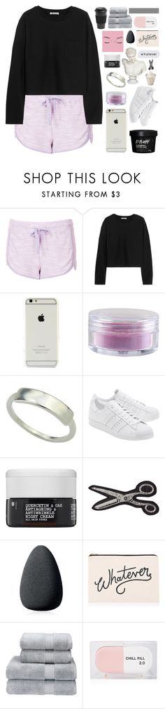 """BUT IF YOU CLOSE YOUR EYES"" by constellation-s ❤ liked on Polyvore featuring Topshop, T By Alexander Wang, Forever 21, adidas Originals, Korres, Olympia Le-Tan, Christian Dior, ALPHABET BAGS, Christy and Sarah's Bag"