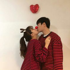 Couple asian ulzzang cute /casal
