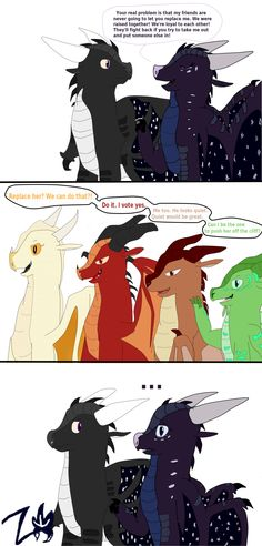 No, I wanna push her off that cliff! Dragon Pics, Dragon Pictures, Dragon Art, Wings Of Fire Dragons, Got Dragons, Fire Fans, Funny Guys, The Best Series Ever, Fire Book