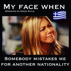 Greek Memes, Funny Greek, Greek Quotes, Greek Sayings, Greek Girl, Greek Language, My Face When, Funny Tumblr Posts, Beautiful Person