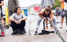 Lauren fisher crossfit athlete training