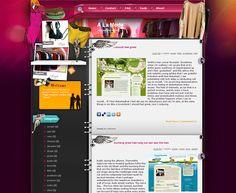 A La Mode Blogger Template Blogspot