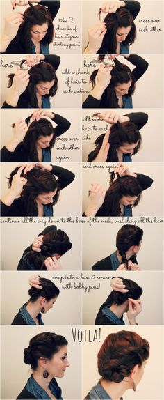 French Rope Braid Hairstyle Tutorial