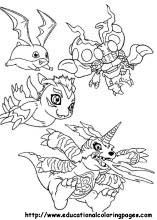 Digimon Coloring Pages Free For Kids