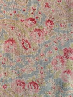 vintage paisley red/duck